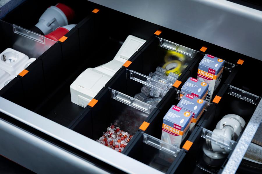 Zubehör für Schubladen für Ihre Fahrzeugeinrichtung